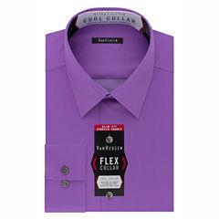 Van Heusen Van Heusen Flex Collar Cool Collar Long Sleeve Woven Dress Shirt