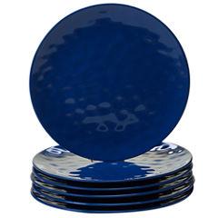 Certified International Blue 6-pc. Dinner Plate
