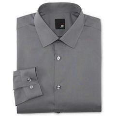 JF J. Ferrar® Easy-Care Dress Shirt - Super Slim