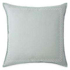 Eva Longoria Home Briella Euro Pillow