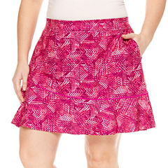 Made For Life Geometric Knit Skorts-Plus (6