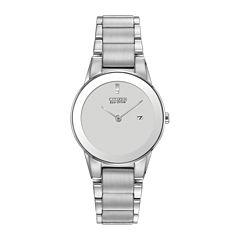 Citizen® Eco-Drive® Axiom Womens Silver-Tone Watch GA1050-51A