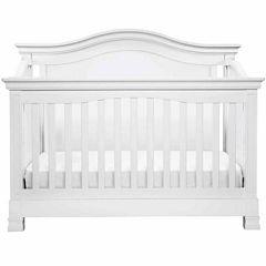 Davinci Louis 4-in-1 Convertilbe Crib with Toddler Rail- White