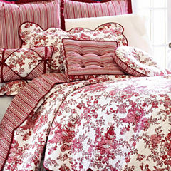 Toile Garden Pillow Sham