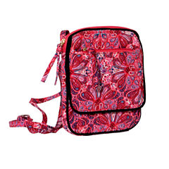Waverly Paisley Quilted Pos Crossbody Bag
