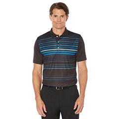 PGA TOUR Short Sleeve Stripe Polo Shirt