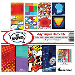 Reminisce 11-pc. Superhero Collection Kit