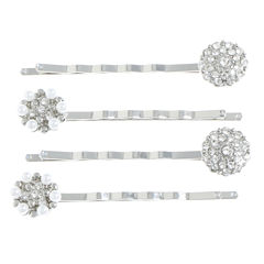 Monet Jewelry The Bridal Collection 4-pc. Bobby Pin