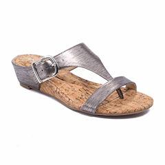 Andrew Geller Iwin Womens Flat Sandals