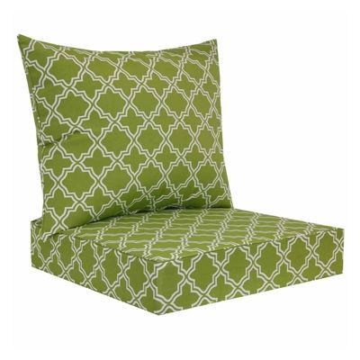 outdoor oasis deep seat chair cushion set