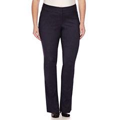 Heart & Soul® Double Waist Pants - Juniors Plus Short