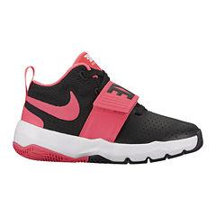 Nike Team Hustle D 8 Girls Basketball Shoes - Little Kids