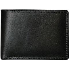Buxton® Emblem Double I.D. Leather Wallet
