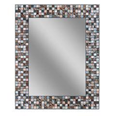 Earthtone Wall Mirror