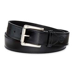 Dickies® Black Leather Belt–Big & Tall