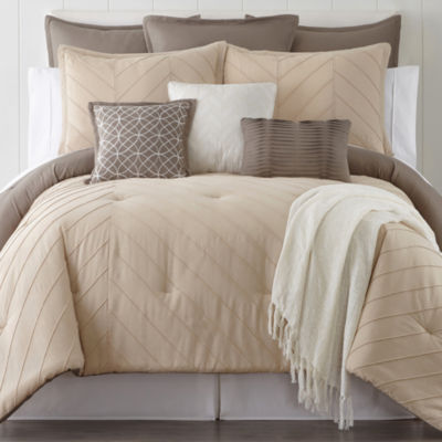 home expressions arden 10pc comforter set