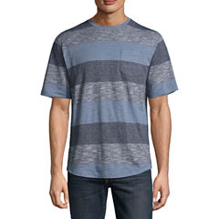 Distortion Short Sleeve Crew Neck T-Shirt