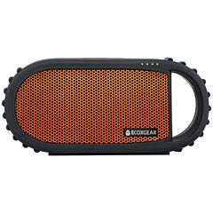 Grace Digital Audio ECOXGEAR GDI-EXCBN200 EcoCarbon Waterproof Bluetooth Speaker - Orange