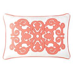JCPenney Home™ Stonebridge Applique Oblong Decorative Pillow