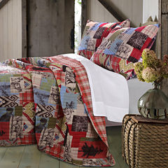 Greenland Home Fashions Rustic Lodge Quilt Set & Accessories