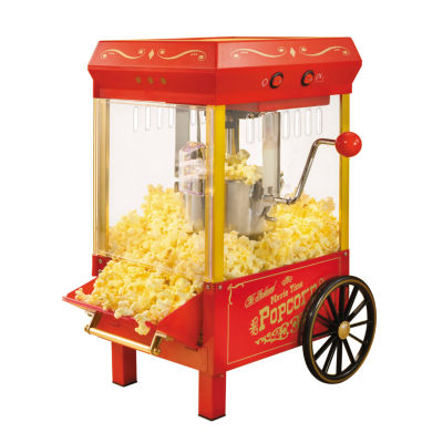 nostalgia kpm508 vintage collection 25ounce kettle popcorn popper