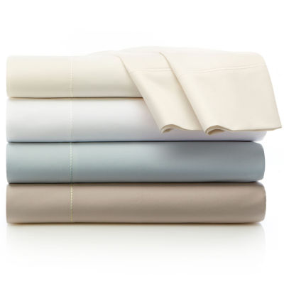 liz claiborne 600tc egyptian cotton sateen sheet set - California King Bed Sheets