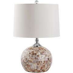 Safavieh Mina Shell Table Lamp