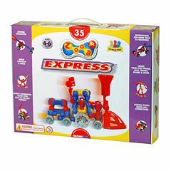 Infinitoy ZOOB Jr Express Train Set