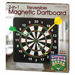 Westminster Inc. 2-in-1 Reversible Magnetic Dartboard