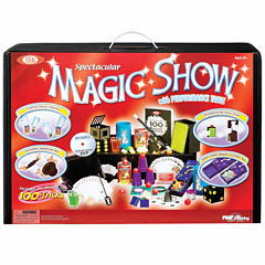 Cadaco Deluxe 100 Trick Magic Suitcase with DVD
