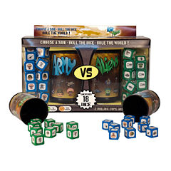 Wiggles 3D AVA Challenger Series - Set #1: Army vs. Aliens Dice Game