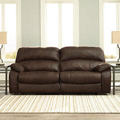 Signature Design by Ashley® Zavier Two Seat Reclining Sofa