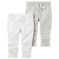 Carter's Little Baby Basics Neutral 2-Pack Pants