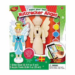 Masterpieces Puzzles Works of Ahhh... Wood Painting Kit - Nutcracker Angel
