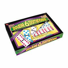Puremco Double 6 Color Dot Dominoes - Tournament Size