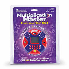 Learning Resources Multiplication Master Electronic Flash Card