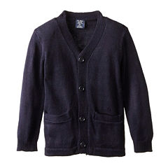 U.S. Polo Assn.® Long-Sleeve V-Neck Cardigan - Preschool Boys 4-7