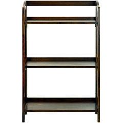 Stratford 3-Shelf Folding Bookcase