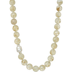 ROX by Alexa Rutilated Quartz Beaded Necklace