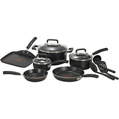 T-Fal® Signature 12-pc. Aluminum Nonstick Cookware Set