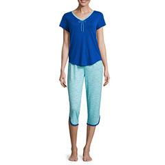 Sleep Chic Capri Pajama Set