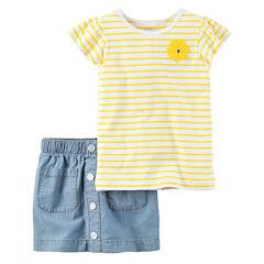 Carter's Girl Skirt Sets