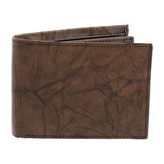 Stafford® Leather RFID Slim-Fold Wallet