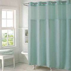 Hookless High Point Linen Shower Curtain