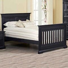 Ozlo Baby Galloway Crib Conversion Rails- Navy Mist
