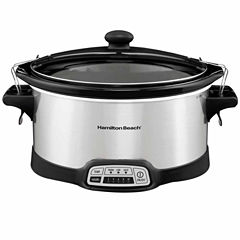 Hamilton Beach 7 Qt Programmable Slow Cooker
