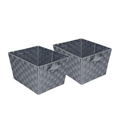 Honey-Can-Do® Set of 2 Woven Baskets