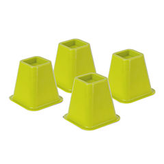 Honey-Can-Do® Set of 4 Bed Risers