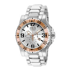 Invicta® Excursion Reserve Mens Stainless Steel Chronograph Watch 14041