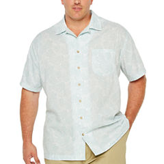 The Foundry Big & Tall Supply Co. Short Sleeve Camp Shirt-Big and Tall